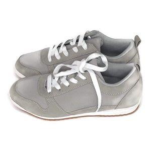 JustFab Ayma Track Shoe Womens Gray Size 7.5